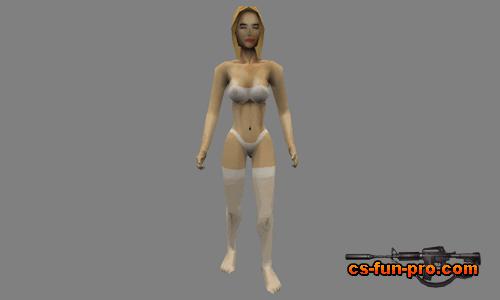 Naked hostage skin